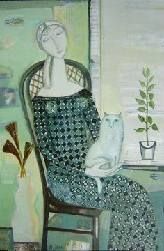 "Tatiana Gorshunova - ""At window"", 2006"