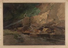 ART & ARTISTS: John Sell Cotman – part 1 c1805 On the Greta graphite, watercolour and gouache 22.8 x 33.3 cm