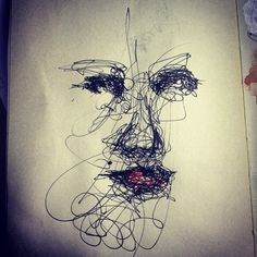 Quick pen sketch.