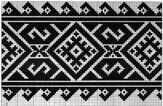 Costume and Embroidery of Neamț County, Moldavia, Romania Folk Embroidery, Shirt Embroidery, Cross Stitch Embroidery, Embroidery Patterns, Loom Patterns, Beading Patterns, Crochet Patterns, Crochet Chart, Crochet Motif