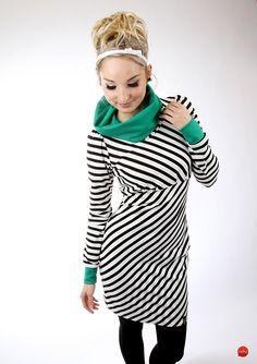 """Minikleider - MEKO Kleid """"EBBY_18Streifen"""" - ein Designerstück von meko bei DaWanda"""