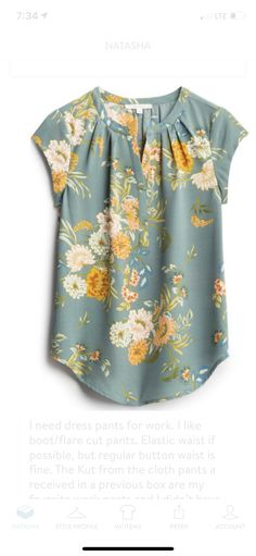 Heather, I love the colors in this, and the waterfall flow of the floral pattern. Cute Cardigan Outfits, Cute Cardigans, Mom Outfits, Cute Outfits, Work Fashion, Fashion Outfits, Teaching Outfits, Stitch Fix Outfits, Stitch Fix Stylist