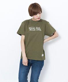【ZOZOTOWN】MILKFED.(ミルクフェド)のTシャツ/カットソー「S/S TEE DOUBLE MILKFED 2(Tシャツ/ロゴ/刺繍)」(03161117-1604)をセール価格で購入できます。