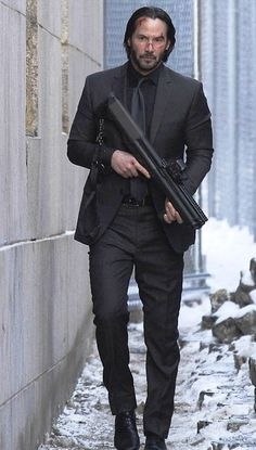 Keanu Reeves John Wick, Keanu Charles Reeves, John Wick Hd, John Wick Movie, Baba Yaga, Grey Suit Men, Black Suits, Keanu Reeves Quotes, Keanu Reaves