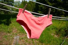 VERY SHANNON: how to make your own underwear - ban the wedgie!