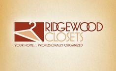 Web and logo design for a New Jersey closet design company. #logo #logos #design