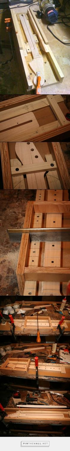 DIY tools & jigs - Telecaster Guitar Forum Neck finishing jig - created via http://pinthemall.net
