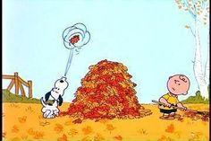 Fall Snoopy