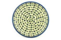 Polish Pottery 11-inch Plate | Boleslawiec Stoneware | Polmedia H3976B