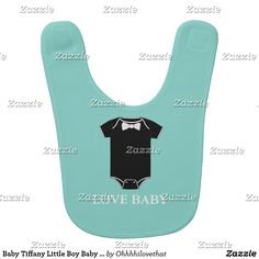 Baby Tiffany Little Boy Baby Bib