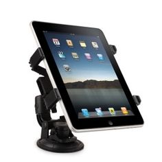 Universal Car Swivel Plastic Mount Holder for iPad/GPS/Netbook/DV# List Price: US$21.66  Price:        * US$        € £ CA$ AU$ HK$ CHF ¥    16.19Size of the holder can be adjusted to fit different devices  Holder is detachable and can be replaced with other suitable standalone holder  Holder can be tilted forward or backward by loosening bottom-mounted screw  360-degree swivel design allows you choose the best viewing angle  Maximum size: 14 cm x 11.5 cm  Perfect holder for GPS/iPad