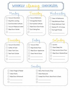 twenty63: Home Management Binder: Cleaning {Free Printables!}