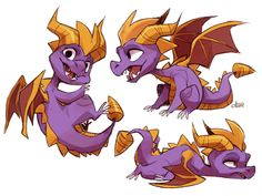 spyro is bi and i can prove it! Spyro The Dragon, Dragon Art, Spyro And Cynder, Reptiles, Fiery Dragon, Dragon Names, Cool Dragons, Character Design Animation, Mythical Creatures