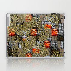 Falling leaves Laptop & iPad Skin by Bozena Wojtaszek   Society6
