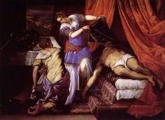 Tintoretto: Judith and Holofernes (1579) Museo del Prado