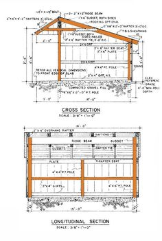 13×16 Loafing Shed Plans – Build Your Own Run-In Shed
