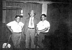 """Kermit Wall shared this mid-1940s photo of musicians Mustard and Gravy, with Tex Ritter pictured between the duo's members. The Wilson Times is publishing historical photos of Wilson County life and landmarks in this space each day. To share your snapshots, email the picture and caption to Lori Parrish at lori@wilsontimes.com with the subject line """"Remember When"""" or bring it to the Times office at 2001 Downing St. SW during regular business hours."""