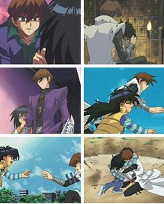 Seto and Mokuba Kiaba screencaps. This goes to prove that even if Seto was the cocky, rude charecter he still had a soft side for what truly mattered to him; his brother