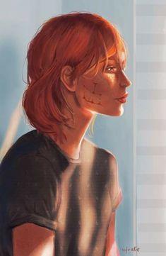 Mass Effect Characters, Female Characters, Sara Ryder, Mass Effect Art, Commander Shepard, Dragon Age, Fan Art, Image, Nerd Stuff