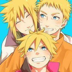 Esses loirinhos maravilhosos #Naruto #FamiliaUzumaki