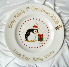 Personalised Ceramic Baby Boy Teddy Plate Gift | Holidays u0026 Gift Ideas | Pinterest | Babies Gift and Craft & Personalised Ceramic Baby Boy Teddy Plate Gift | Holidays u0026 Gift ...