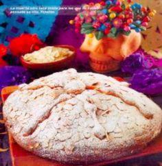Pan de muerto de calabaza y nata