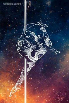 pole dance artwork