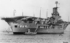 HMS  Ark Royal - Aircraft Carrier - Launched 13/04/1937 - Sunk 14/11/1941