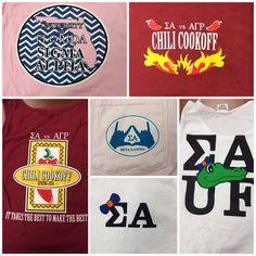 UF Sigma Alpha T-Shirts