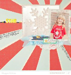 Star by Maggie Holmes > Studio Calico December Kits by maggie holmes at @Studio_Calico