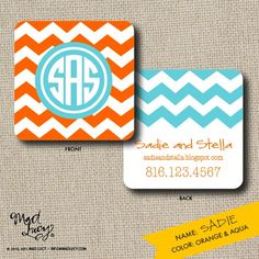 I love the chevron pattern