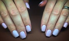 Pink, simple and beutiful nails