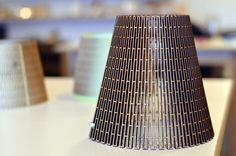 The pendant: a living hinge inspired lampshade