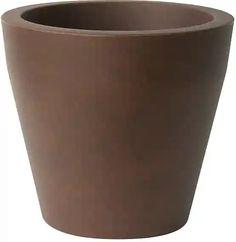 PLUST - Designový květináč NISCAL, Ø 57 x 53 cm - hnědý Canning, Design, Home Canning, Conservation
