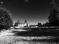 Abandoned Oregon State Institute for the Feeble Minded site from 1908, which closed in 2000 known as Fairview Training Center.