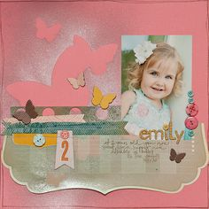 Amazing layout by Maggie Holmes!