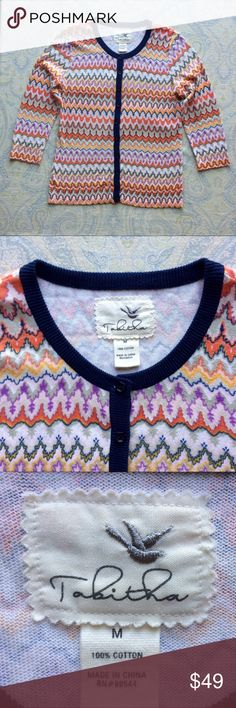 Anthropology Tabhita 100% cotton summer cardigan Anthropology Tabhita 100% cotton summer cardigan. 🌸 If you like it, just make me an offer!☺️🌸   🌸 In really good overall condition! Please see pictures. 🌸☺️Feel free to ask me any questions, and just offer or Bundle for More Discount!!! 15% of 2 🌸 30% of 3 🌸 🌸 😊Thanks for visiting. 🌸💕 Love, Bhakti 💕🌸 Anthropologie Sweaters Cardigans