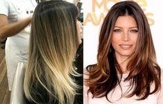 Ombré hair é a nova tendência de coloração para os cabelos