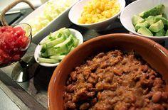 Taco med bønnestuing  | Norsk Vegetarforening