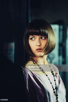 News Photo : French actress Sophie Marceau on the set of...