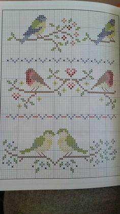 Cross Stitch Sea, Cross Stitch Borders, Cross Stitch Alphabet, Cross Stitch Designs, Cross Stitching, Cross Stitch Patterns, Embroidery Applique, Cross Stitch Embroidery, Embroidery Designs