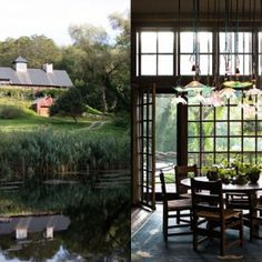 THIS OR THAT: BARN CHIC – TRAD VS. MOD DINING! (PLUS THE COOLEST STOVE I'VE EVER SEEN!)