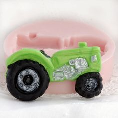 Tractor food mold  fondant gum paste candy by MoldMeShapeMe, $6.50