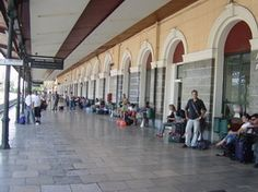 Larissis Train Station in Athens