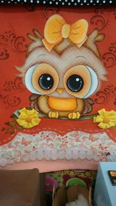 Owl Clip Art, Owl Art, Tole Painting Patterns, Owl Cartoon, Owl Pictures, Beautiful Owl, Owl Patterns, Felt Birds, Baby Owls