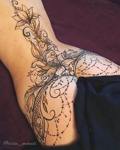 Design tattoo mandala inspiration Ideas for 2019 Design tattoo mand. - Design tattoo mandala inspiration Ideas for 2019 Design tattoo mandala inspiration - Spine Tattoos, Sexy Tattoos, Body Art Tattoos, Sleeve Tattoos, Tattoos For Women, Cover Up Tattoos, Tatoos, Lace Tattoo Design, Mandala Tattoo Design