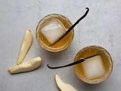 Turns out these Vanilla and Pear Sours are super easy to make, and you can use any fruit you'd like.