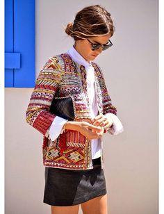 os Achados | Moda | Casaquetos Indianos