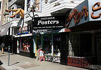 Haight-Ashbury: Eclectic. Fragrant. Reliable shopping.