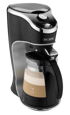 Mr. Coffee Cate Latte machine - I was spending about $20-25 week on latte's - last weekend bought this machine and it tastes as good if not better than Starbuck's.  Saving me $$$, one of my best investments :D